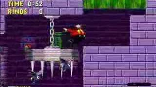 Eggman in Sonic 1 - Green Hill and Marble Zones