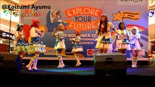 Aozora Jumping Heart & Step! Zero to One (dance cover by Aqua:Jump!) [Rita Supermall Purwokerto]