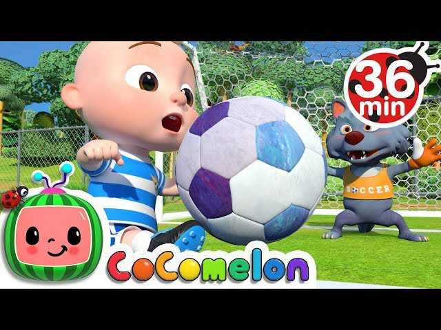 The Soccer Football Song  More Nursery Rhymes amp Kids Songs - CoCoMelon
