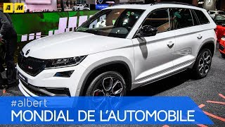 Skoda Kodiaq vRS al Salone di Parigi 2018 [ENGLISH SUB]