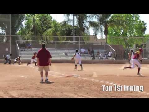 High School Softball: Long Beach Wilson vs. LB Poly