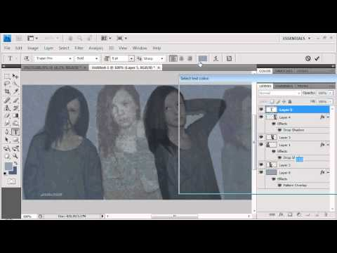 tutorial - photoshop header