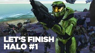 Hrej.cz Let's Finish: Halo #1 [CZ]
