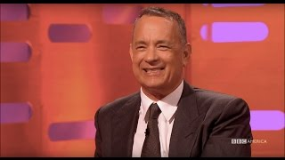 Tom Hanks 39 Wife Loved His Butt In Forrest Gump The Graham Norton Show