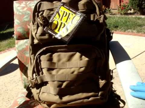 Spec Ops T.H.E Pack - Brownells Military Tactical Backpack Review