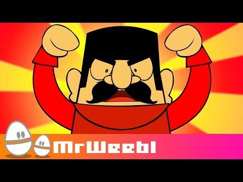 Русский танцующий мужик: Анимированное музыкальное видео: MrWeebl