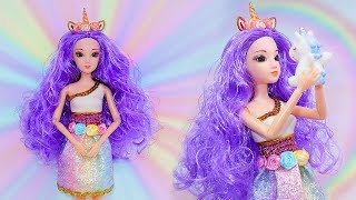 🦄Transform a Barbie into a Unicorn Barbie 🦄