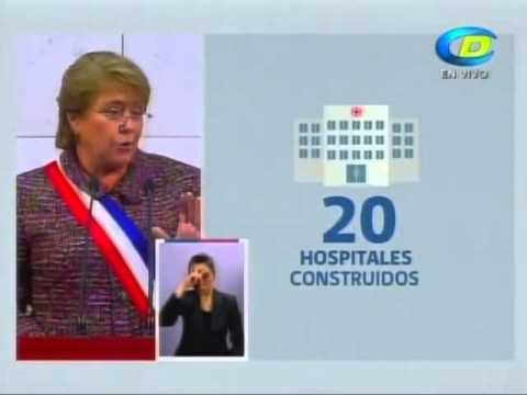 Mensaje Presidencial Michelle Bachelet - 21 de mayo de 2014