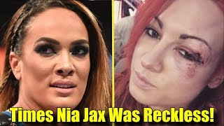5 Wrestlers That Nia Jax INJURED BY BEING RECKLESS!