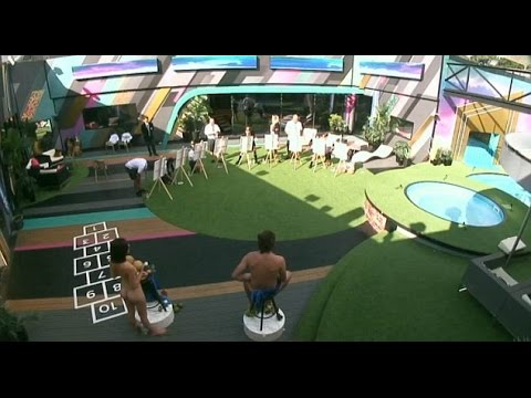 Celebrity Big Brother housemates tasked with painting NUDE life models as part of school challenge thumbnail