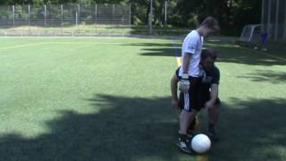 virtuelles Torwarttraining - Abstoß (reloaded)