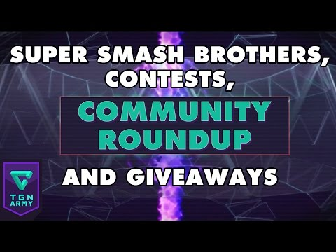 TGN Community Roundup – Super Smash Brothers, Contests, and Giveaways!