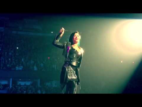 Demi Lovato HD - Really Don't Care - World Tour - Calgary October 5, 2014