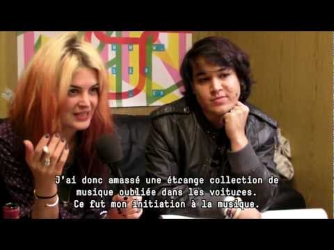 Paléo 2012 - Interview The Kills (Alison Mosshart) & Mehdi Benkler