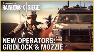 Rainbow Six Siege: Operation Burnt Horizon – Gridlock & Mozzie | Trailer | Ubisoft [NA]