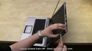 Laptop screen replacement / How to Repair (replace) LCD screen in a laptop