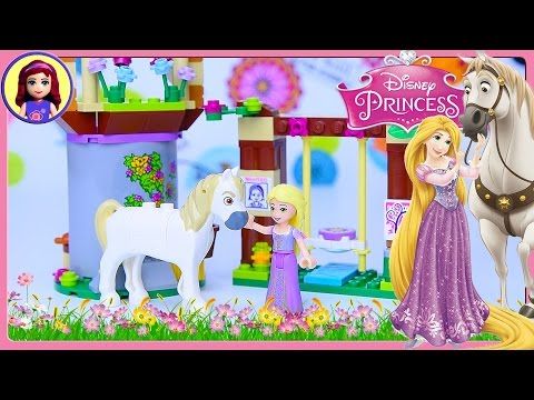 Lego Disney Princess Rapunzel's Best Day Ever Build Review Silly Play - Kids Toys