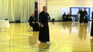 John, June 2011 Iaido Shinsa, Kent State University, Ohio