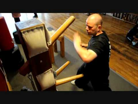 Choy Lay Fut Wooden Dummy Training Image 1
