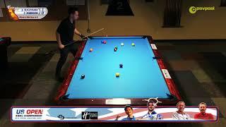 "#2 - Chris ROBINSON vs Jeff SUGIYAMA / ""The Last Spot"": 2019, U.S. Open 9-Ball Qualifier"