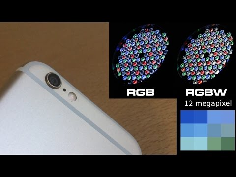 iPhone 6s 12 megapixel Sony camera will use RGBW technology