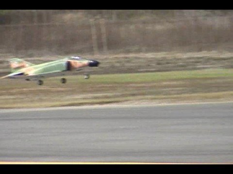 F-4 Phantom II 70MM EDF RC RTF Jet Flight Review!