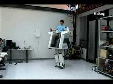Hubo FX-1 Walking Robot.