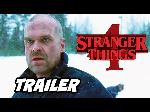 Stranger Things Season 4 Teaser Trailer 2020 - Netflix Breakdown and Easter Eggs