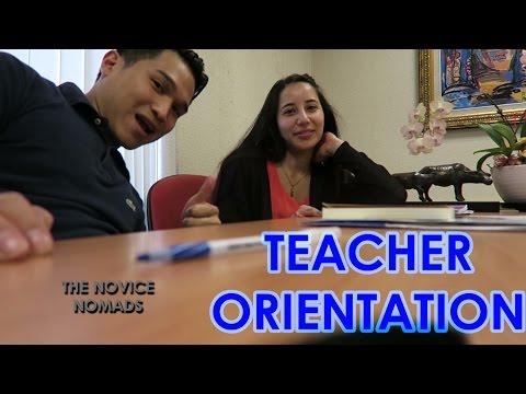 Teacher Orientation | Taipei City, Taiwan