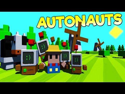 Прохождение Autonauts - АВТОДРОВОСЕКИ!