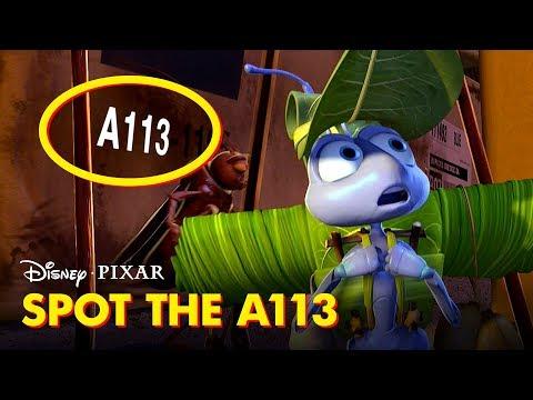 Pixar Did You Know: A113   Disney•Pixar
