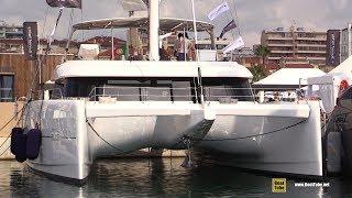 2019 Sunreef Yachts 60 Catamaran - Deck and Interior Walkaround - 2018 Cannes Yachting Festival