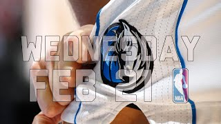 NBA Daily Show: Feb. 21 - The Starters