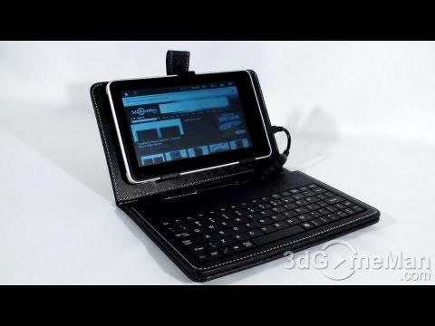 #1223 - Hard Case with Keyboard for 7″ and 10.2″ Tablets Video Review
