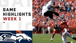 Seahawks vs. Broncos Week 1 Highlights | NFL 2018