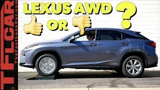 Does the AWD Lexus RX 450h Pass or Fail the TFL Slip Test?
