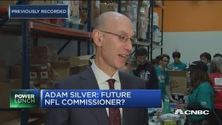 NBA Commissioner Adam Silver: I love my job at the NBA