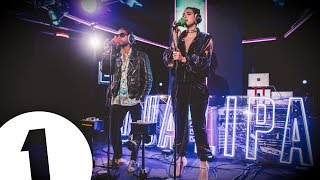 Dua Lipa performs Lost in Your Light ft Miguel in the Live Lounge
