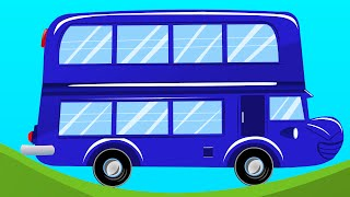 Les roues de l'autobus | Wheels on the Bus Song (French) - nursery rhymes with French lyrics
