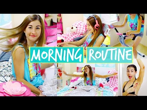 Morning Routine Summer 2014 ☼