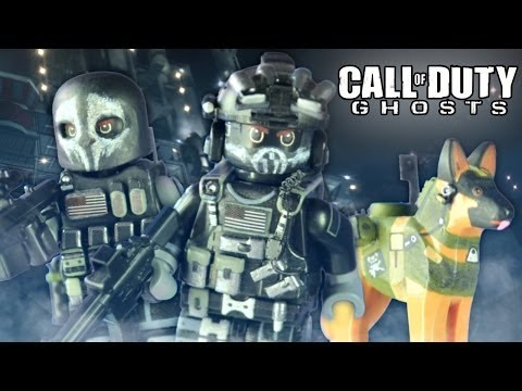 LEGO Call of Duty Ghosts : Keegan. Logan. & Riley - Showcase