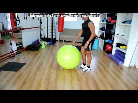Video Fortalece Tus Abdominales Y Core Con Estos Ejercicios En Casa de Fitball