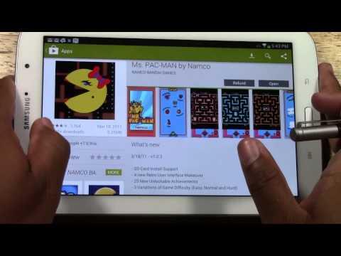 Galaxy Tab 2 7.0 - How to Return (Refund) an App | H2TechVideos