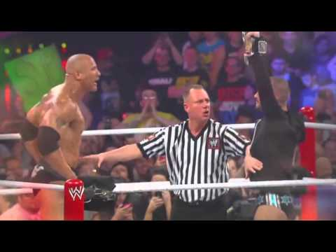 John Cena Vs The Rock Wrestlemania 29 Promo (wwe Raw Hd) video