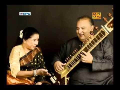 Naina Lagai Ke (KARAOKE) -- Asha Bhosle & Shujaat Khan