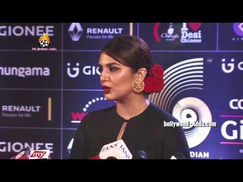 Actress Huma Qureshi - GIMA Awards 2016 - Global Indian Music Academy !!!