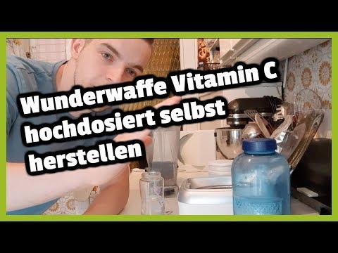 Wunderwaffe Vitamin C hochdosiert selbst herstellen I Ganz einfach!