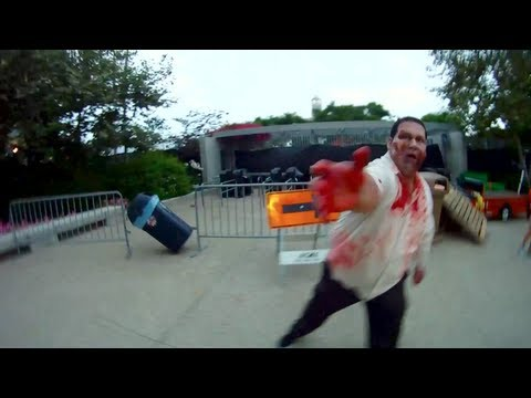 FULL The Walking Dead Escape zombie experience at San Diego Comic-Con ...