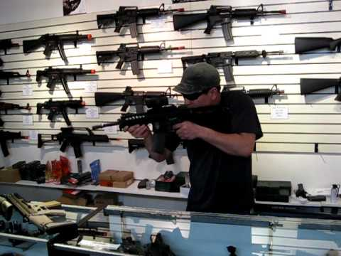 Ajax reviews the new Airsoft G&G M14 EBR, WE PDW, WE SCAR GBB Rifles