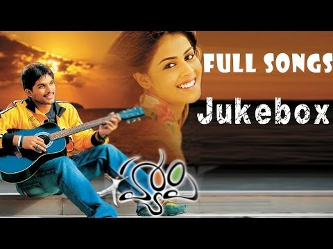 Happy Telugu Movie || Full Songs Jukebox || Allu Arjun Genelia...